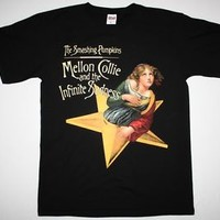 THE SMASHING PUMPKINS MELLON COLLIE AND THE INFINITE SADNESS NEW BLACK T-SHIRT