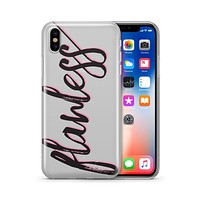 Flawless - Clear TPU - iPhone Case