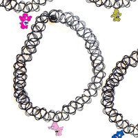 CARE BEARS TATTOO CHOKERS – tibbs & BONES