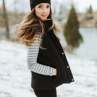 Luxe Hooded Puffer Vest