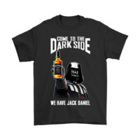 QIYIF Darth Vader Come To The Dark Side We Have Jack Daniel Shirts