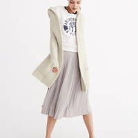 TEXTURAL OVERSIZED COCOON CARDIGAN