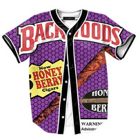 Backwoods Blunts Button Shirt