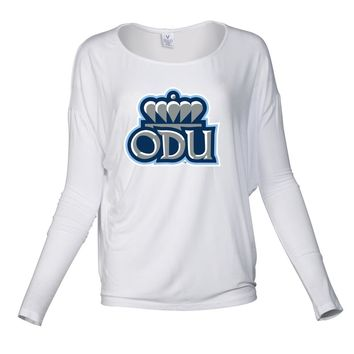 NCAA Old Dominion Big Blue PPODU07 Women's Loose Pico Top