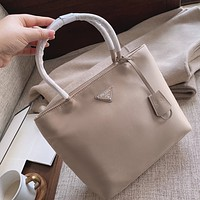 prada women leather shoulder bag satchel tote bag handbag shopping leather tote crossbody satchel shouder bag 33
