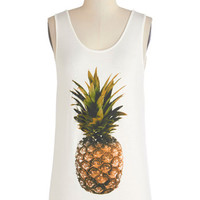 ModCloth Fruits Mid-length Tank top (2 thick straps) Tropical Taste Tank