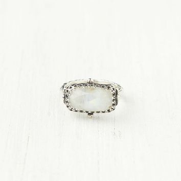 Free People Rectangle Stone Ring