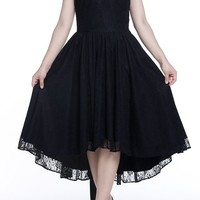 Black Narkissa Dress