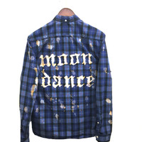 Blue Moondance Shirt in Plaid