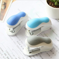 1pcs mini stapler cartoon office school supplies staionery paperclip Binding Binder free shipping