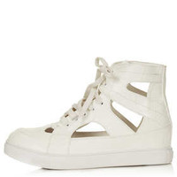 ASHTON Cut Out Trainers - View All  - Shoes