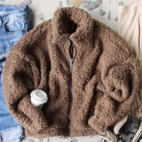 Timber Jack Teddy Coat