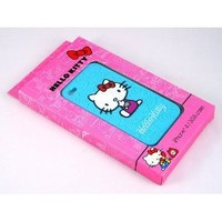 Smile Case Hello Kitty Premium Blue Silicone Full Cover Case for AT&T iPhone 4 4G (4-HK Premium Blue)