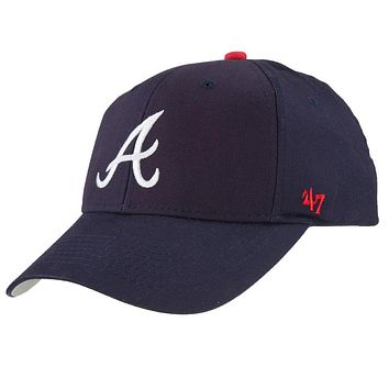 Atlanta Braves - Logo Basic Home Kids Adjustable Baseball Cap