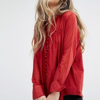 Free People Through And Through Top