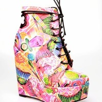 Iron Fist Sweets For My Sweet Wedge - Multi