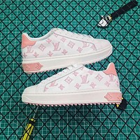 Louis Vuitton LV Time Out Pink Sneaker