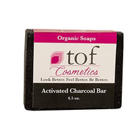 The Organic Face All Natural Organic Bath and Body Soaps (Activated Charcoal Bar)