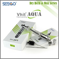 Seego Vhit Aqua Wax and Dry Herb Bubbler