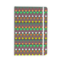 "Nandita Singh ""Pattern Play"" Rainbow Chevron Everything Notebook"