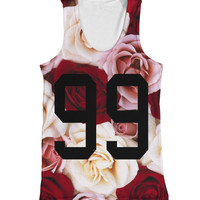 99 Roses all over vest