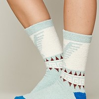Free People Womens Eagle So Soft Boot Sock - Ivory, One