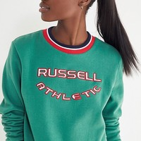 Russell Athletic Hera Ribbed Sweatshirt | Urban Outfitters