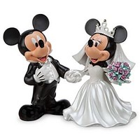 Mickey and Minnie Mouse Wedding Figure | Disney Store