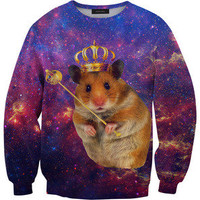 Mr. Gugu & Miss Go — King hamster sweater