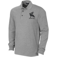 Guardian Angel GS - Long Sleeve Pique Knit Polo