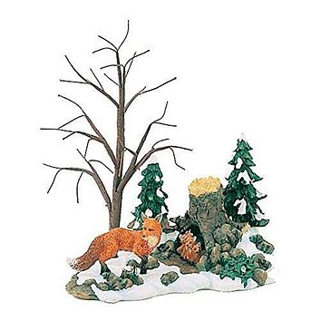 Dept. 56 Foxes in the Forest