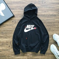 Nike New Couple Hooded Long Sleeve Casual Sweater