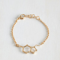 Quirky Neurotransmit Your Love Bracelet by ModCloth