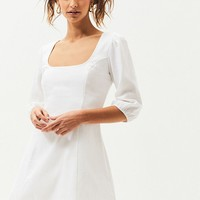 Kendall and Kylie Linen Seam Mini Dress | PacSun