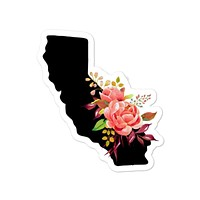 Floral State Decal