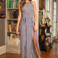 Wander In Confidence Maxi Dress, Black