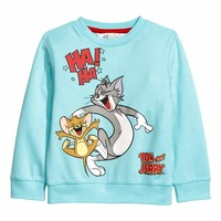 H&M Sweatshirt with Printed Design $19.99