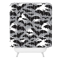 Heather Dutton Night Watch Shower Curtain