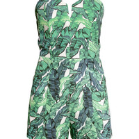 Strapless Jumpsuit - from H&M