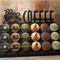 Keurig Coffee Holder - 18 Pod Coffee Cup Counter-top Design