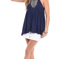 Hit Refresh Lace Paneled Cami Top