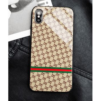 Luxury GVCC IPhone Case  6/6s/7/8/Plus/X