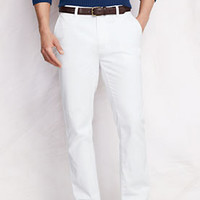 Men's Lighthouse Straight Fit Chino Pants from Lands' End