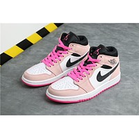 Air Jordan 1 Retro Mid GS 852542-801