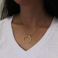 Simple Design Double-layered Accessory [10437011213]