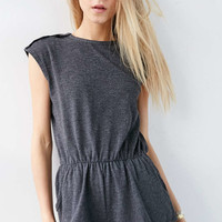 Urban Outfitters Black Tomboy Playsuit - Urban Outfitters