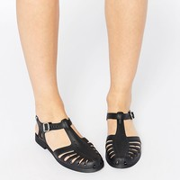 Melissa Aranha T Bar Flat Shoes