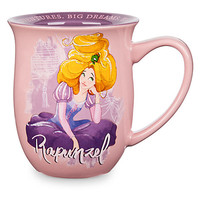 Disney Store Rapunzel Story Mug Big Adventures Big Dreams Big Hair New