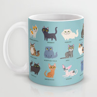 Cats! Mug by DoggieDrawings
