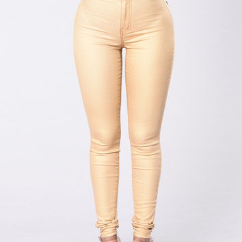 It's So You Jeans - Gold